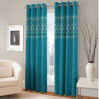 BSB Trendz Panle Print Single Door Curtain (PS-146)