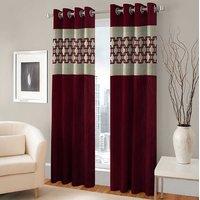 BSB Trendz Panle Print Single Door Curtain (PS-147)