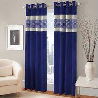 BSB Trendz Panle Print Pack Of 2 Door Curtain (P-132)