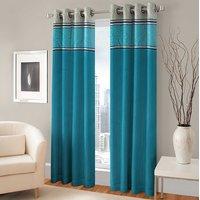 BSB Trendz Panle Print Pack Of 2 Door Curtain (P-135)