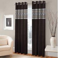 BSB Trendz Panle Print Pack Of 2 Door Curtain (P-143)