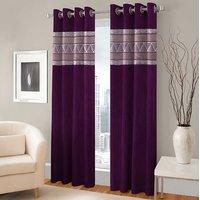BSB Trendz Panle Print Pack Of 2 Door Curtain (P-144)