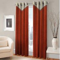 BSB Trendz Panle Print Pack Of 2 Door Curtain (P-148)