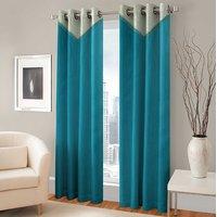 BSB Trendz Panle Print Pack Of 2 Door Curtain (P-149)