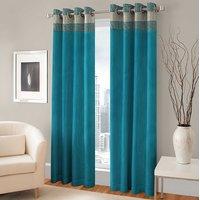 BSB Trendz Panle Print Pack Of 2 Door Curtain (P-151)