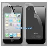 Ultra Clear LCD Scratch Guard Screen Protector (Front + Back) For Apple IPhone 4 4S