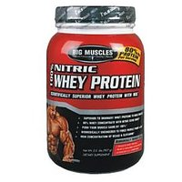 Big Muscle 100% Nitric Whey Protein, 2 Lbs-Chocolate