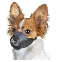 Dog Nylon Adjustable Muzzle For Small Breed Dogs And Puppies - 3613406
