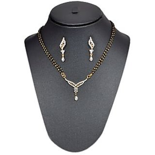 Pourni American Diamond Mangalsutra Sm100