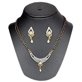 Pourni American Diamond Mangalsutra-Sm180