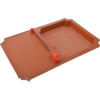 ANKUR Plastic Cut N Wash Board, 1 Piece, Brown