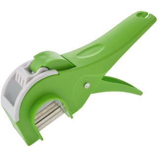 ANKUR Plastic Vegetable Cutter Regular, 1 Piece, Green