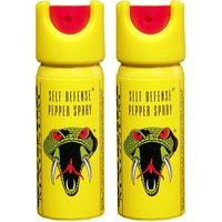Pair Of Self Defence Cobra Pepper Spray For Women