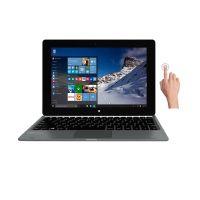 Micromax Canvas Laptab (LT666W) Touchscreen Laptop (Intel Quad Core- 2GB RAM- 32GB eMMC- Windows 10-WiFi Only) (Grey)