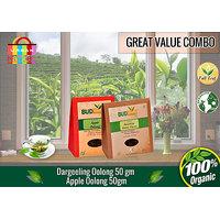 Darjeeling Oolong Classic Tea (50 Gms) + Apple Oolong Tea (50 Gms)