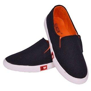 Sukun Black Women Casual Shoe