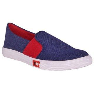 Suklun Blue Women Casual Shoes