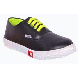 Sukun Black Women Casual Shoes