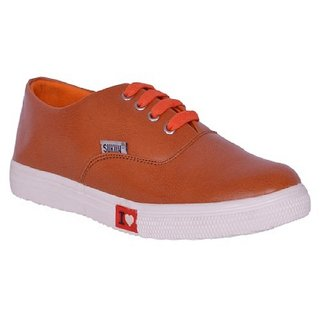 Sukun Tan Women Casual Shoes