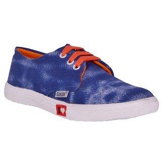 Sukun Blue Women Casual Shoes