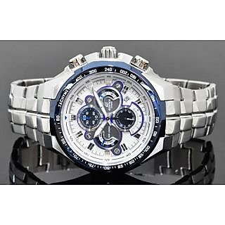 ORIGINAL CASIO EDIFICE EF 554 QUATTRO DIAL WATCH