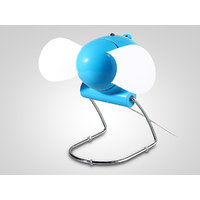Portable USB Or Batteries Operated Fan Air Cooling Fan With Flexible Blades