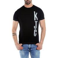 KILLER Men'S Cotton Black T-Shirt