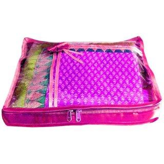 Atorakushon Pack Of 1 Saree Salwar Suit Cover Dress Protection Cover Garment Storage Box Bg