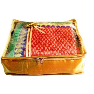 Atorakushon Pack Of 1 Saree Salwar Suit Cover Dress Protection Cover Garment Storage Box Bag