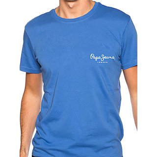 Pepe Jeans London Men's Blue T-shirt