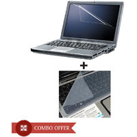Combo of Laptop Screen Guard & Keyboard Protector