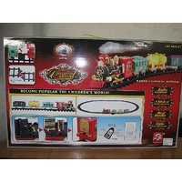 TOY GIFT Series Classical Train Remote Control Smoke Train
