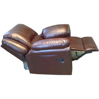 ROCKING ROTATING RECLINER CHAIR P-TYPEBROWN