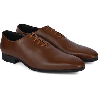 Ziraffe IMPER Tan Mens Leather Formal Shoes