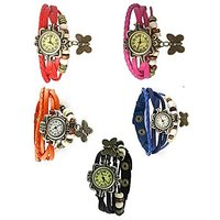 FANCY party Butterfly -Glory watch Combo Brandedking combo pack of -5  by  miss