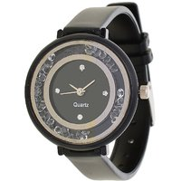 Glory Black Diamond Designer VIP look Collection Analog Watch - For Women by miss