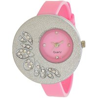 Glory Big  Fancy Designer look Collection PU Analog Watch - For Women by miss