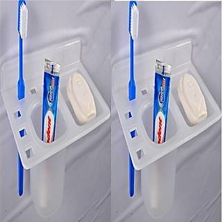 SSS-Acrylic 3 in1 (Paste Holder,Brush Holder  Soap Holder)(Buy 1 Get 1)