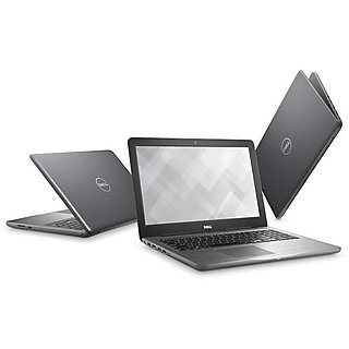 Dell Ins 5567 (Core i7 7th Gen 7500U/16GB RAM/2TB HDD/4GB Graphics/Win 10) Gray - With pre-bundled office 2016