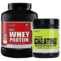 Medisys Muscle Gain Combo Chocolate Whey Protein 2Kg+Creatine