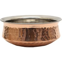 Ridhi Sidhi Copper Handi 15.5 cm