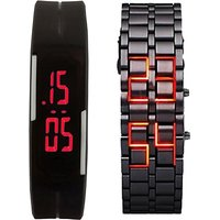 fast selling LED-band-chain-combo Digital Watch - For Boys, Men, Girls, Women by miss