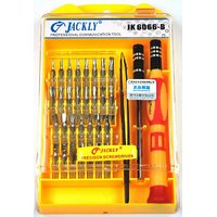 33-in-1 Jackly 6066-B Screwdriver Tool Kit For Mobiles, PDA, Laptop