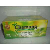 Green Tea Bags - Chamong DARJEELING GREEN BUYONE GET ONE FREE 25X2=50 TEA BAGS