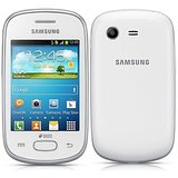 Samsung Galaxy Star S5282 (Ceramic White) available at ShopClues for Rs.4999