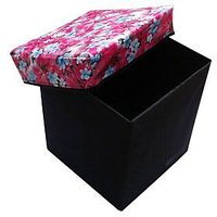 Attrective Foldable Storage Stool - 3643634