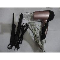 Best For Ladies Combo Of Nova Hair Dryer  1200 Wats + Nova 522 Hair Straightner