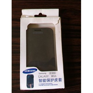 Original Samsung Galaxy Grand Quattro I8552 Battery Flip Flap Cover Carry Case
