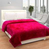 BSB Trendz Plain Double Mink Blanket
