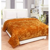 BSB Trendz Plain Single  Mink Blanket